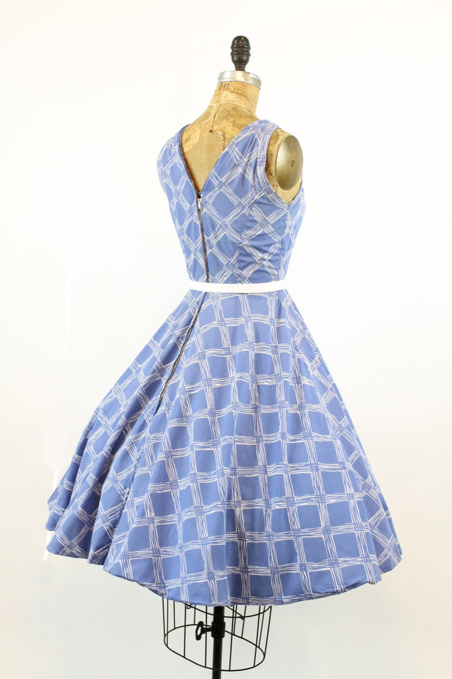 1950s Grenelle Estevez dress xs | vintage cotton designer dress