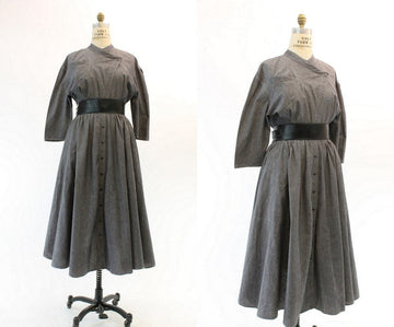 1980s Thierry Mugler dress medium | vintage avant garde dress | new in