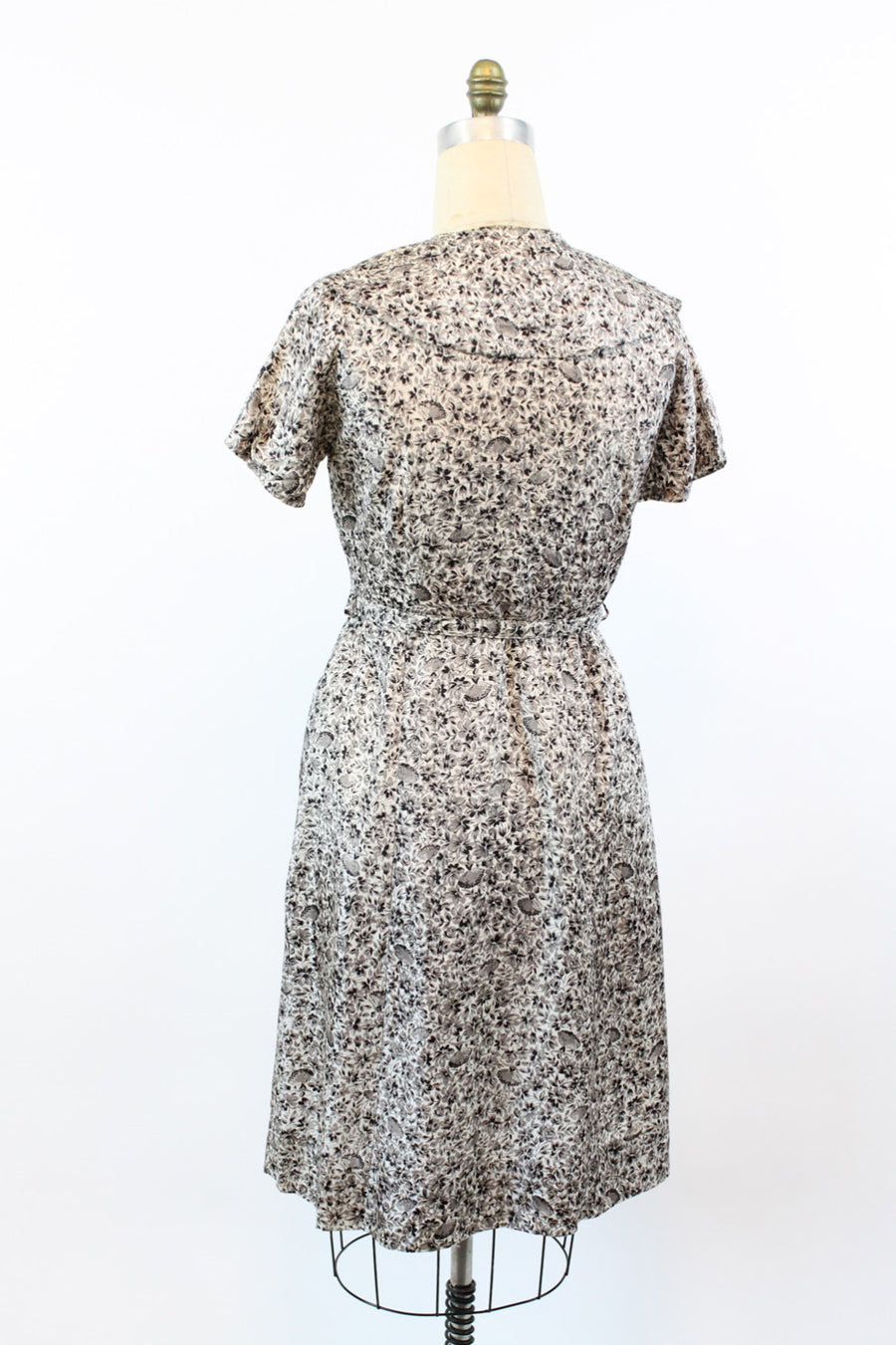 1950s ballerina print dress large | vintage novelty print | new in