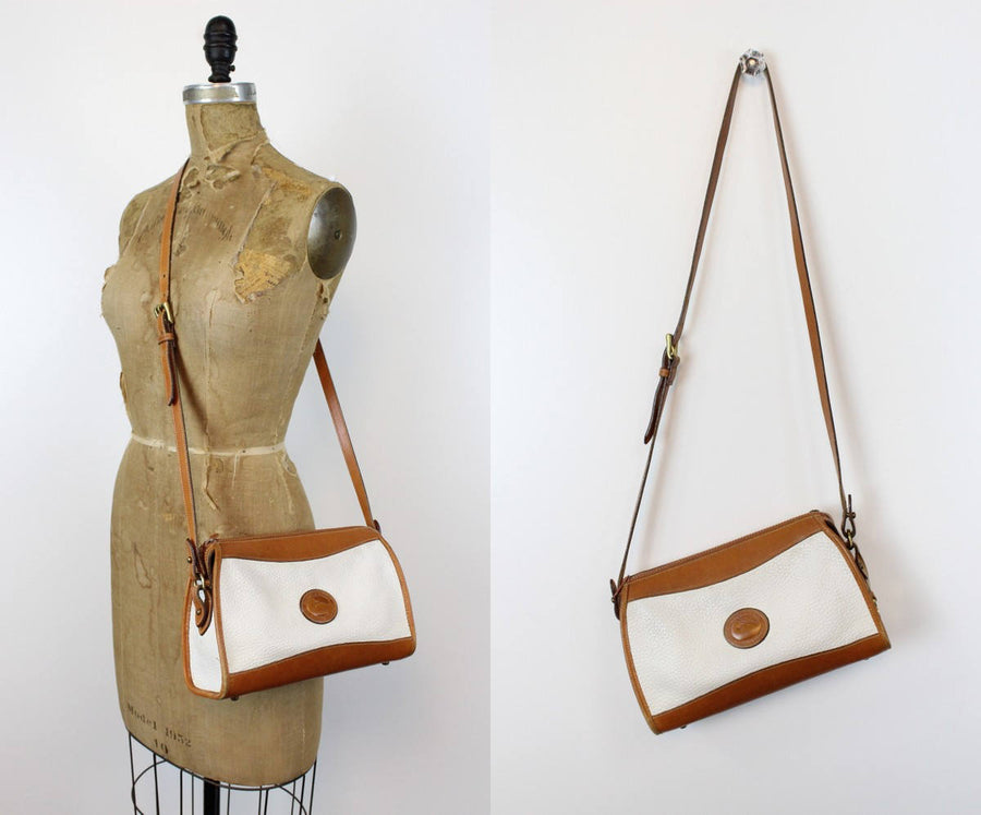 1980s Dooney and Bourke purse | vintage crossbody bag
