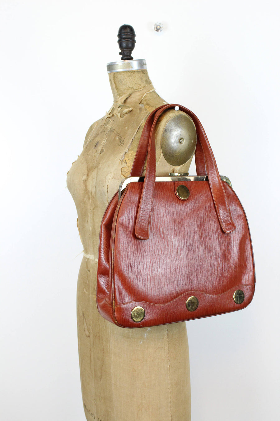1960s frame shoulderbag purse | vintage handbag