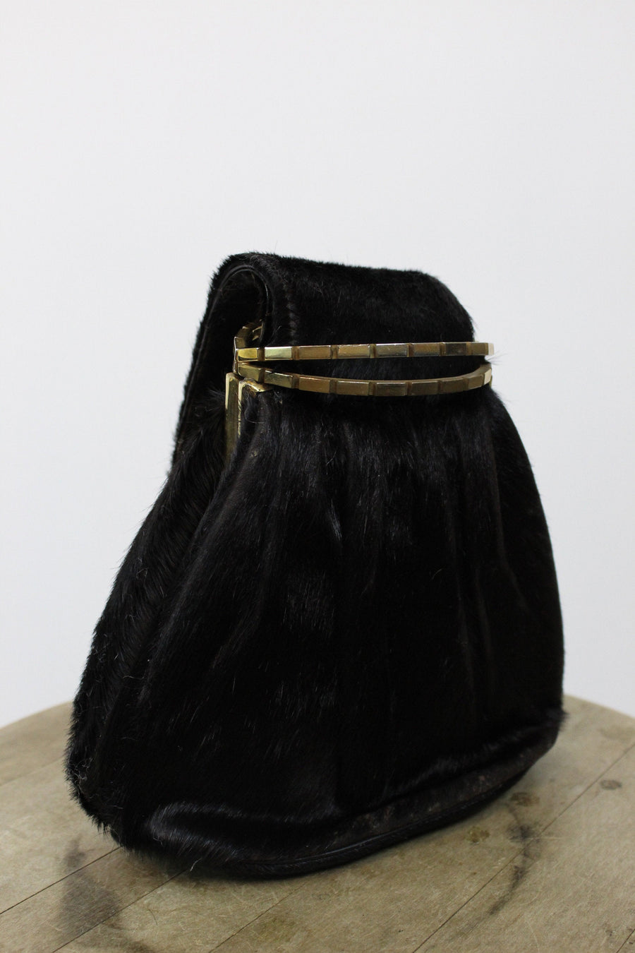 1930s handbag | horse hair clutch