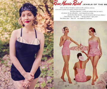 1950s Rose Marie Reid one piece xs | jewels of the sea romper playsuit | new in