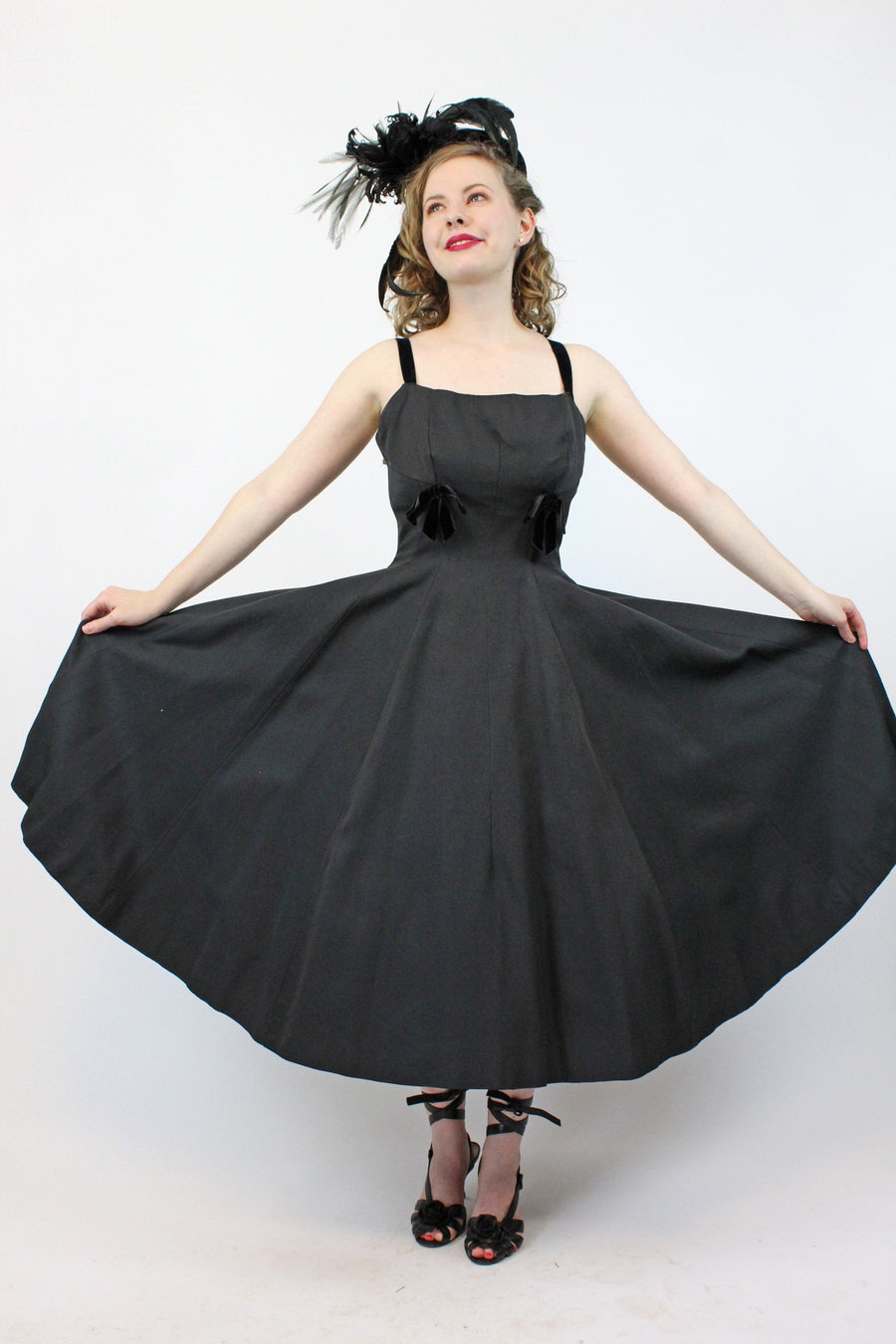 1950s Rappi princess dress xs | vintage circle skirt dress | new in