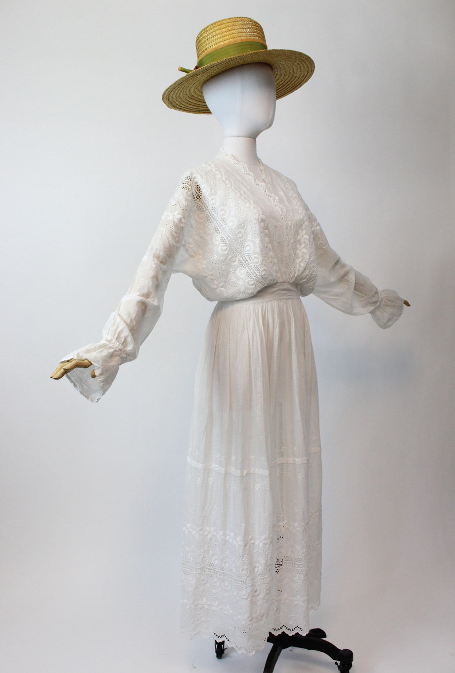 vintage antique edwardian dress xs | vintage wedding dress | new in