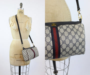 1980s Gucci logo crossbody bag | vintage shoulderbag purse | new in