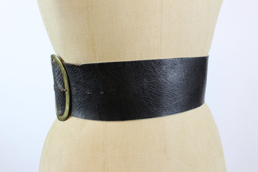 1950s Another Film Star Creation grommet wide kidney belt xs | new in