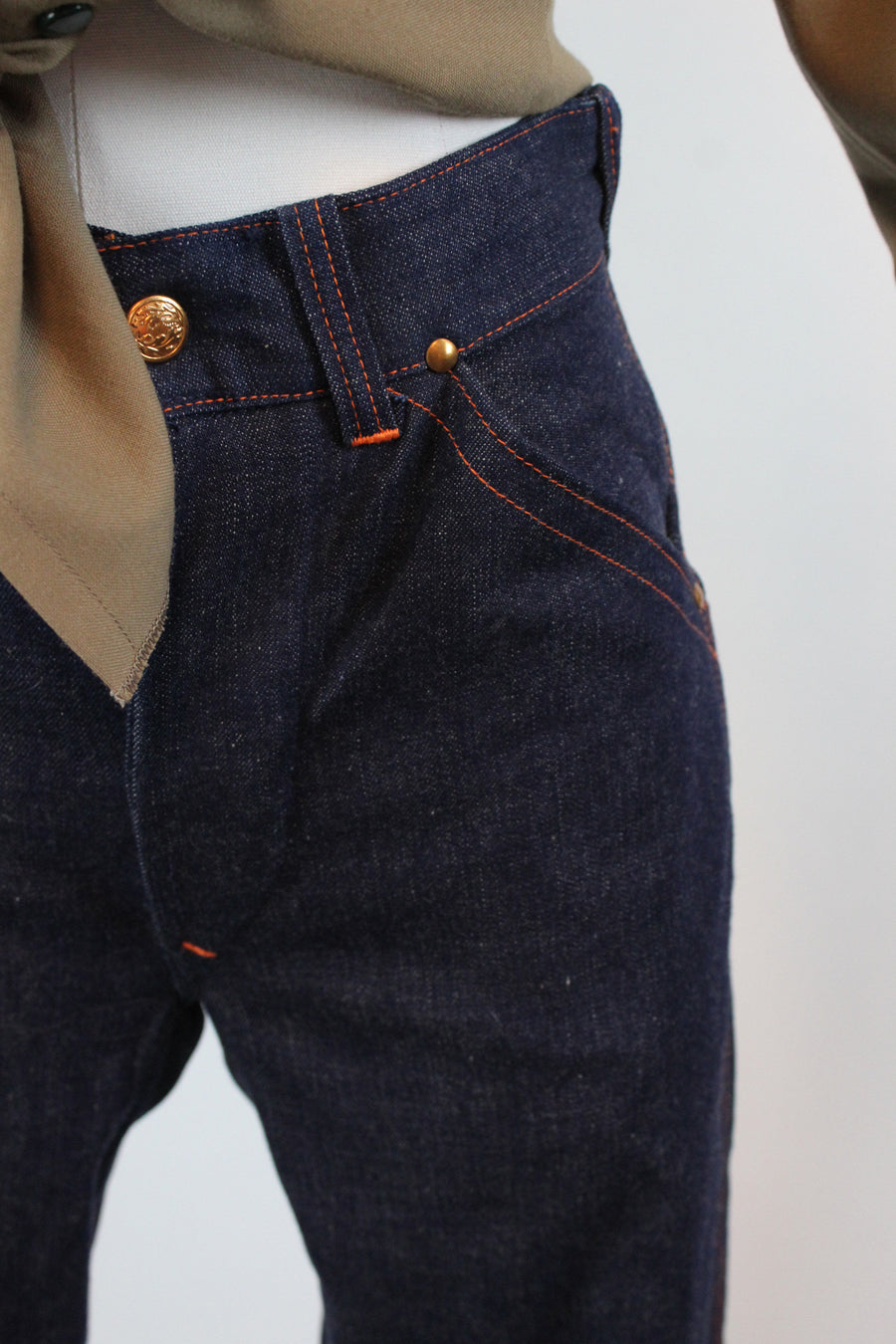 1950s DEADSTOCK State Fair Anvil Brand jeans denim workwear xs small | new fall