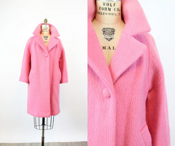 1960s PINK Lilli Ann coat medium large | new fall