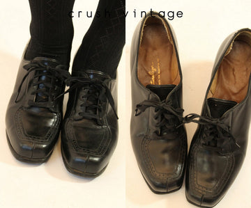 1930s oxford shoes | Naturalizer lace ups | size 6