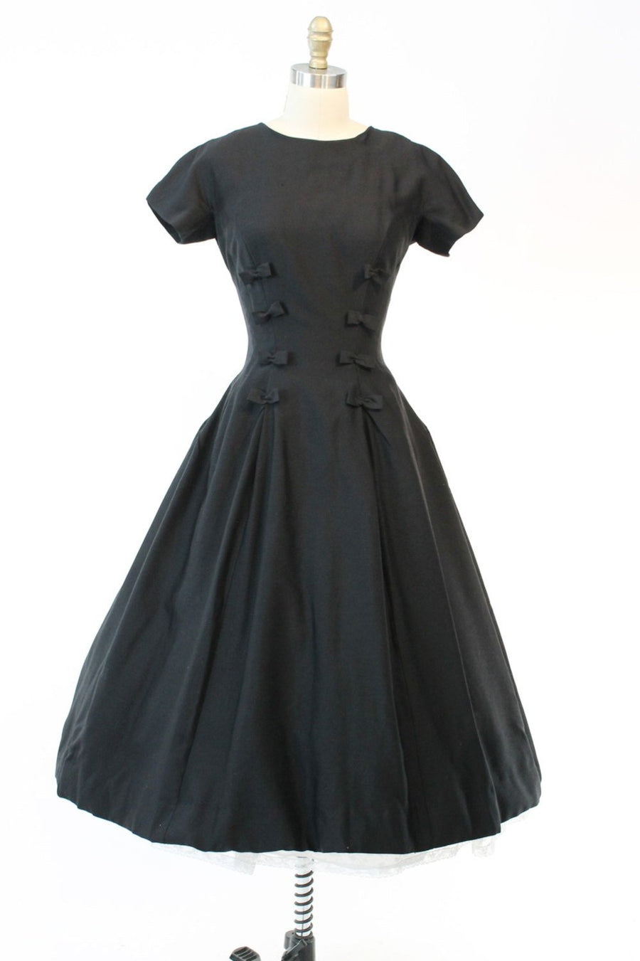 1950s Suzy Perette dress | bow dress | xs