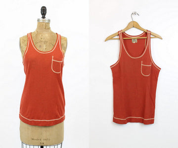 1960s Alvin Duskin tank top small small medium | vintage top