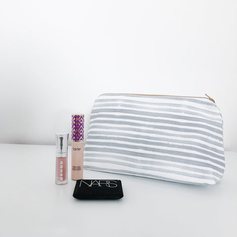 Caitlin Pewter Makeup Bag