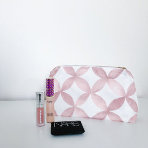 Shannon Dusty Rose Makeup Bag