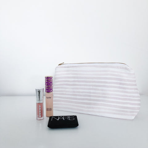 Caitlin Blush Makeup Bag