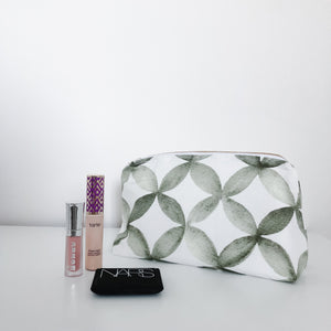 Shannon Olive Makeup Bag