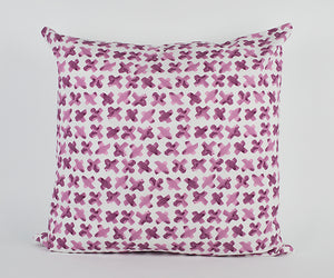 Alyssa Pillow in Dark Pink