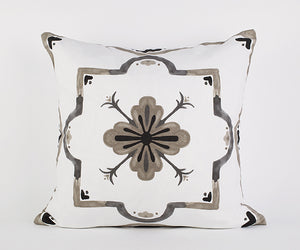 Mackenzie Pillow in Stone/Black/Gray