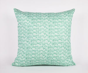 Tatum Pillow in Mint