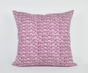 Tatum Pillow in Dark Pink