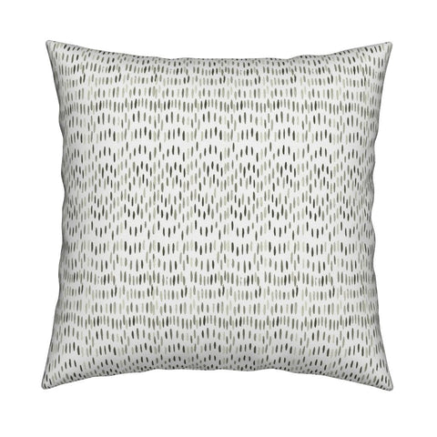 Maggie Olive Green Pillow Cover