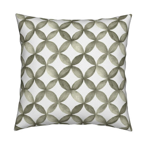 Shannon Olive Green Pillow Cover