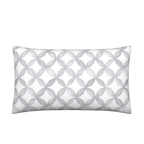Shannon Pewter Gray Pillow Cover