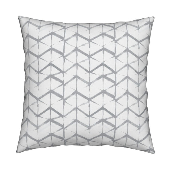Emma Pewter Gray Pillow Cover