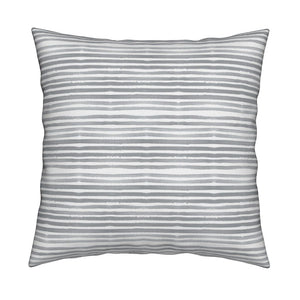 Caitlin Pewter Gray Pillow Cover