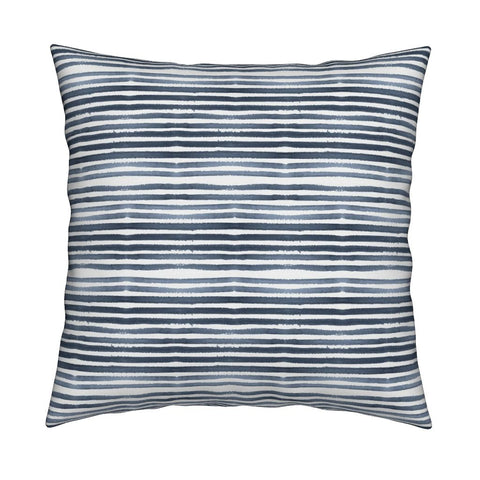 Caitlin Navy Blue Pillow Cover