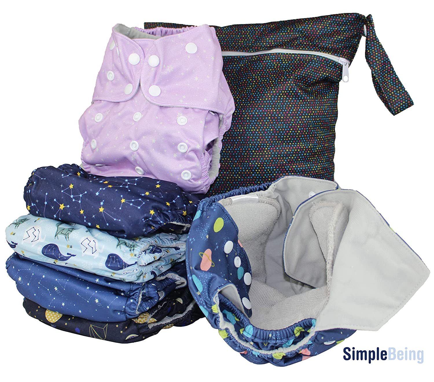 Reusable Diapers: Take a Trip to the Washer instead of to the Store