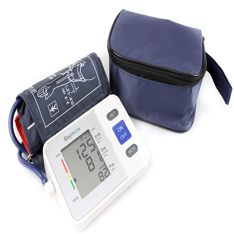 Blood Pressure Monitor Upper Arm-Baymore Supplies-SimplyLife Home