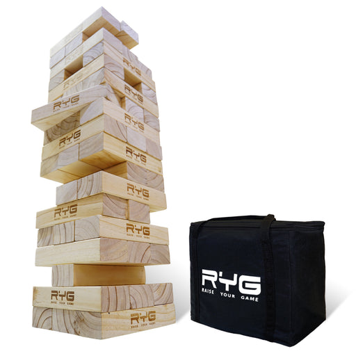 Raise Your Game Giant Wooden Toppling Tower