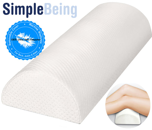 Simple Being Half Moon Bolster Pillow