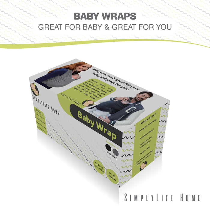 Simple Being Black Baby Wrap