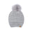 Free Country Scarf Beanie Set for Women (Knit Grey)