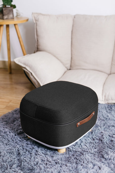 Simple Being Foot Massager Ottoman (Black)