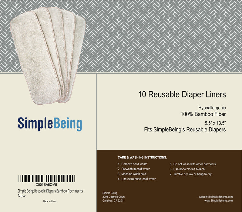 Reusable Diaper Inserts-Simple Being-SimplyLife Home