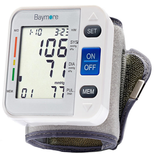 Digital Wrist Blood Pressure Monitor Cuff