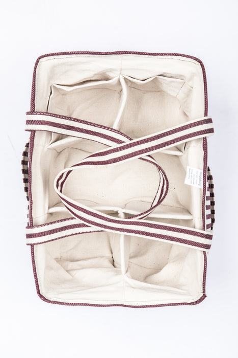 Simple Being Diaper Caddy (Red Stripe)