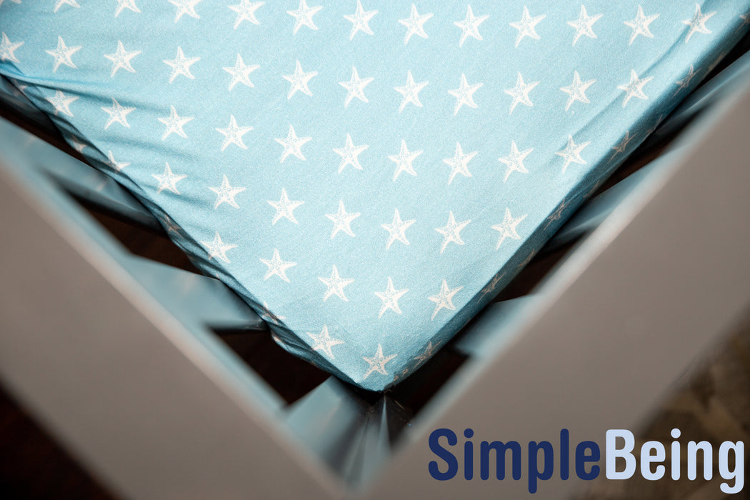 Fitted Crib Sheet-Simple Being-SimplyLife Home