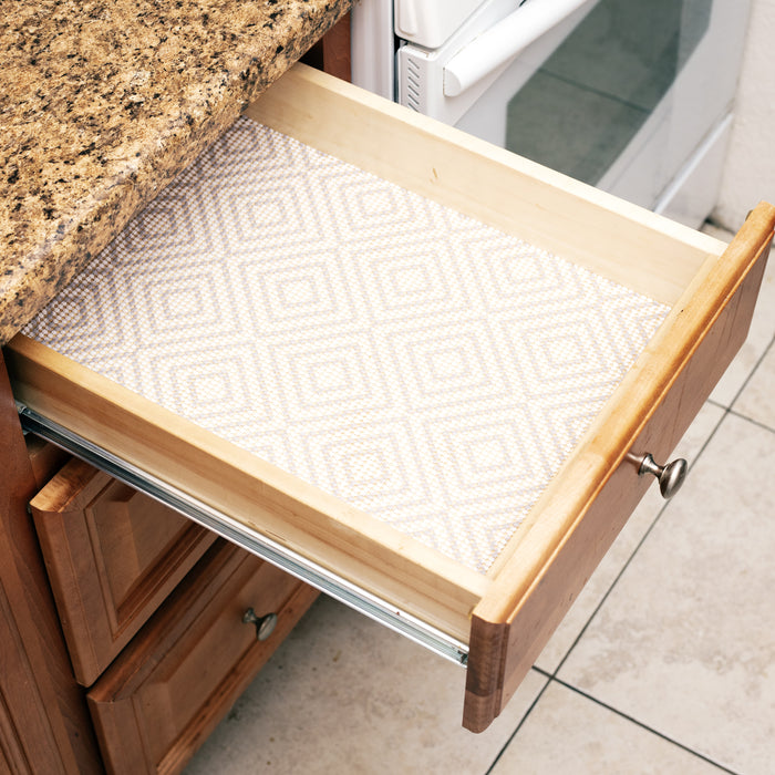 Simple Being Kitchen Shelf Liner Geometric Pattern 24x20