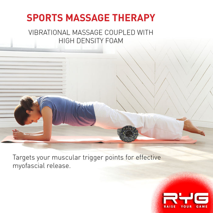 4-Speed Vibrating Electric Muscle Foam Roller-Raise Your Game-SimplyLife Home