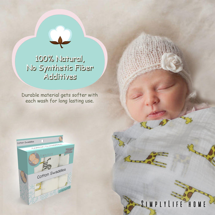 Swaddle Blankets-SimplyLife-SimplyLife Home