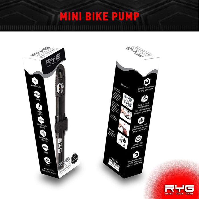 Bike Pump (New)-Raise Your Game-SimplyLife Home