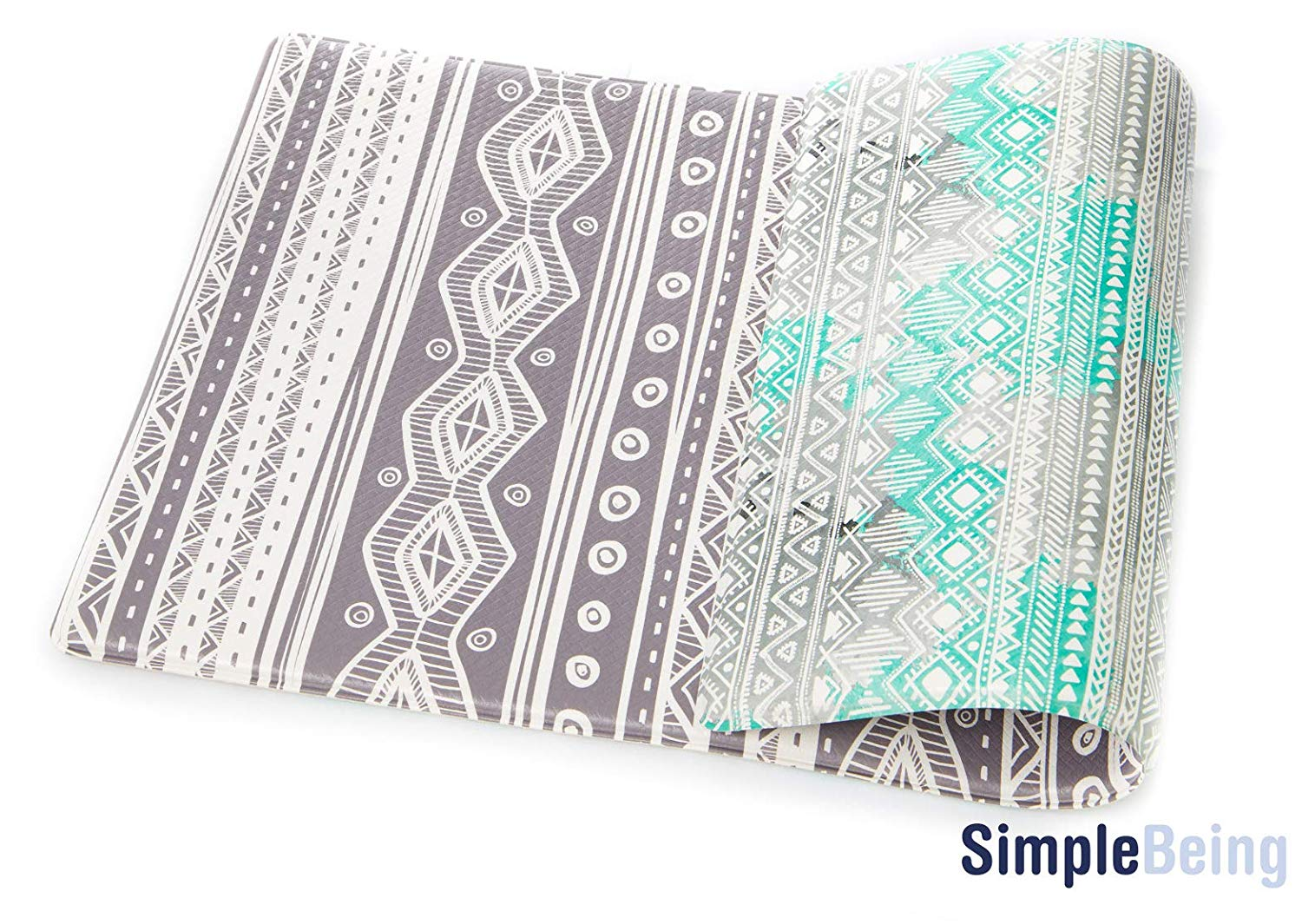 "Bohemian Anti-Fatigue Kitchen Floor Mat (32"" x 17.5"")-Simple Being-SimplyLife Home"