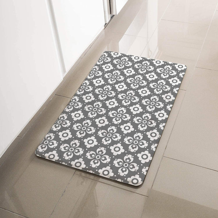 "Simple Being Multi Geometric Anti-Fatigue Kitchen Floor Mat (32"" x 17.5"")"