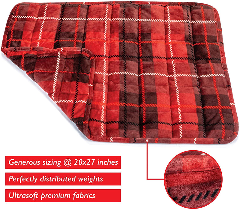 Simple Being Weighted Lap Pad (Red)