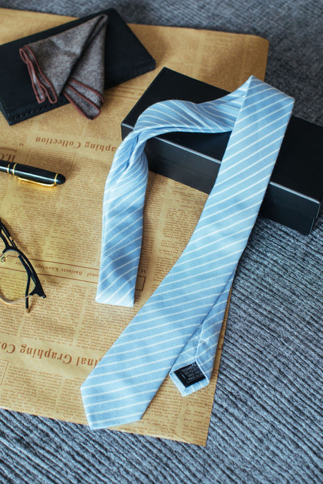 Simple Being Striped Pattern Neckties