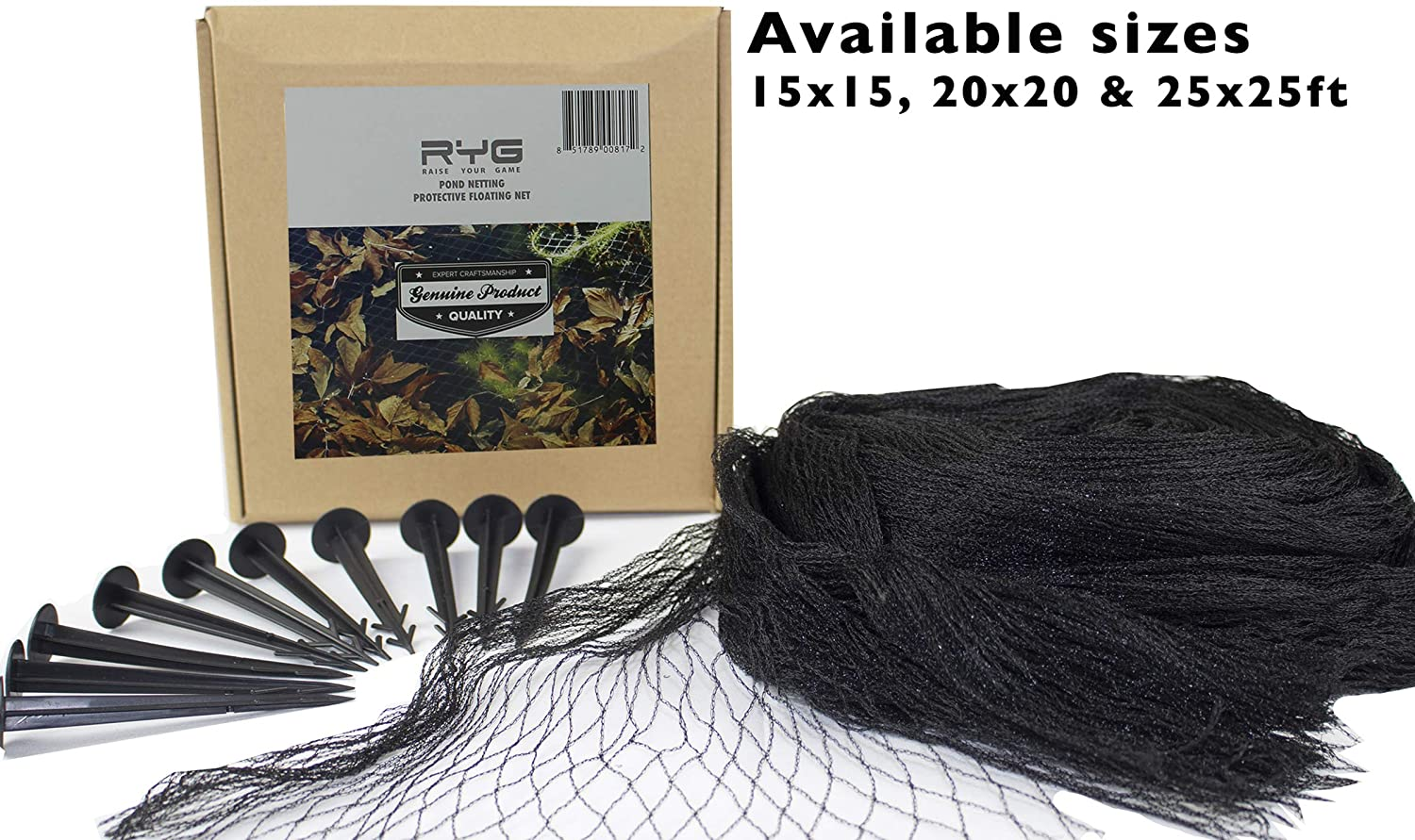 Raise Your Game Pond Netting 20ft x 20ft